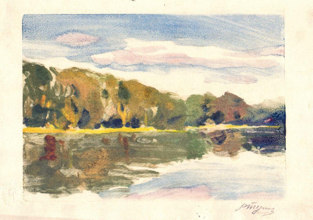 Reuben Filippovich Tupikin. Landscape