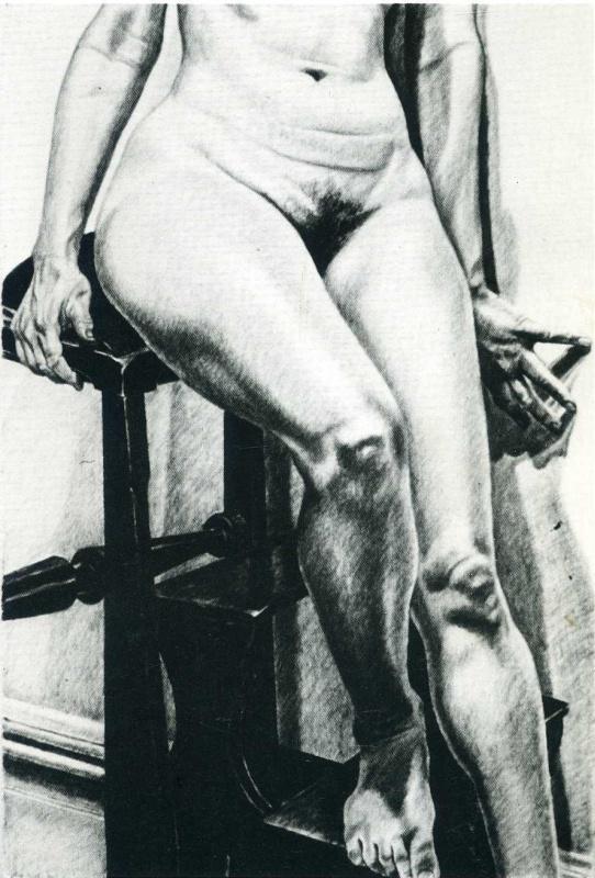 Филипп Перельштейн. Сидящая женщина