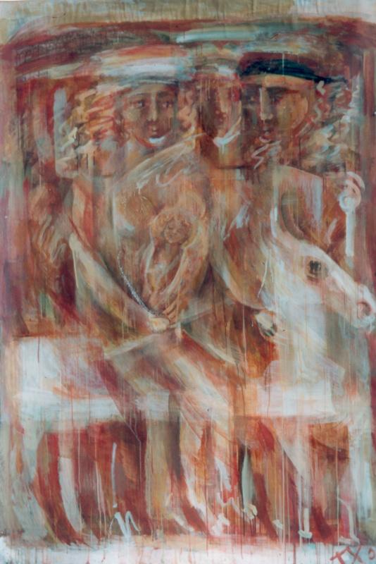 Татьяна Хрычева. Бегство в египет