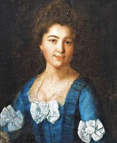 Ivan Petrovich Argunov. Portrait of Princess Anna Lazarevna Lazaryan-Sumbatova