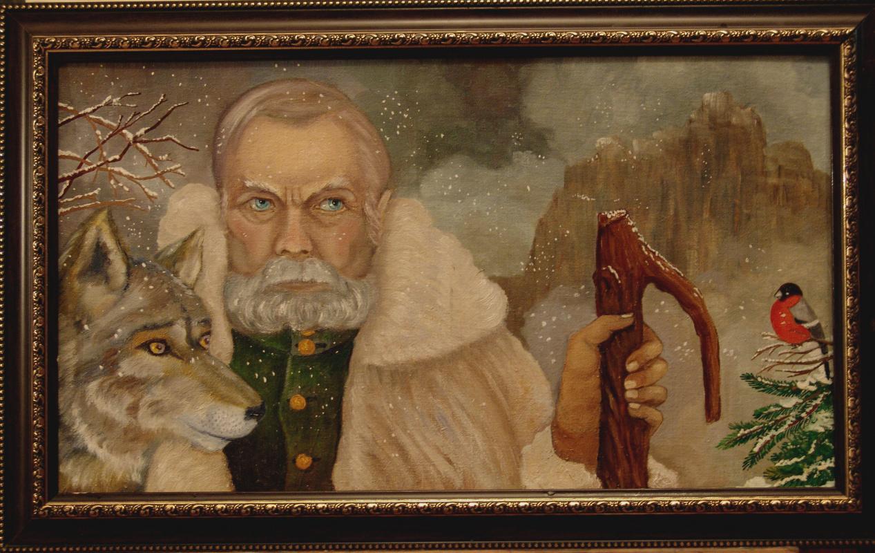 """Vladimir Pavlovich Parkin. """"Hermit"""""""