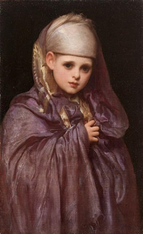 Frederic Leighton. Little Fatima