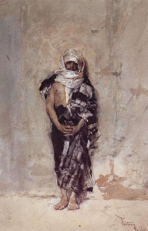 Мариано Фортуни. Марокканский парень