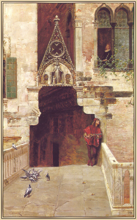 Charles Edward Edmond Delors. Romeo and Juliet