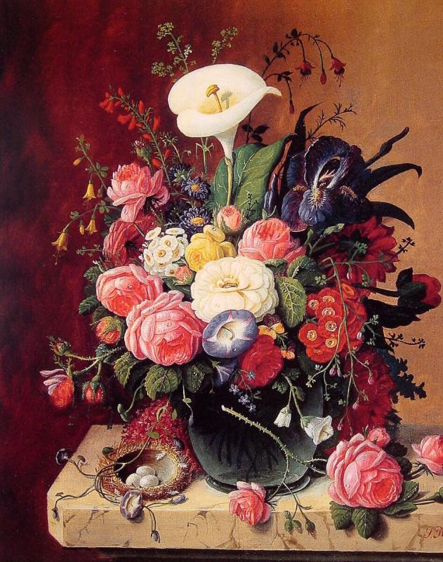 Северин Розен. Цветочный натюрморт