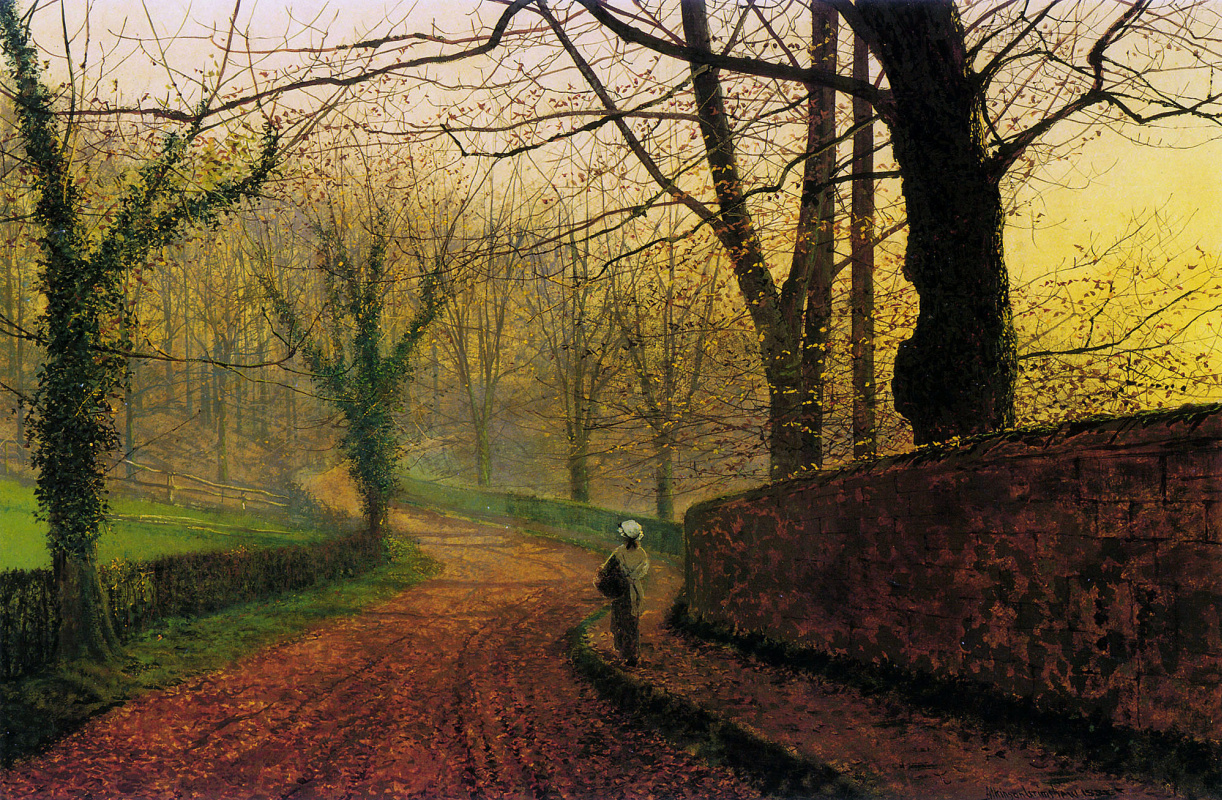 John Atkinson Grimshaw. Stapleton Park