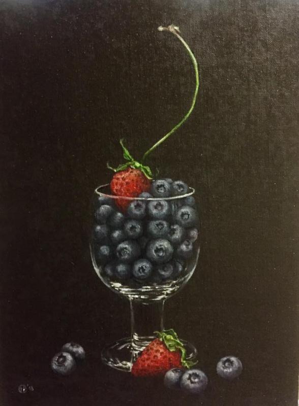 Hope Sosnovikova. Blueberry-strawberry