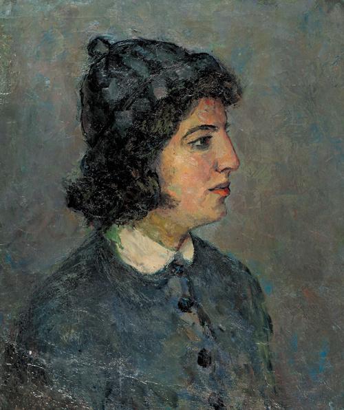 Raisa Veniaminovna Idelson. Female portrait