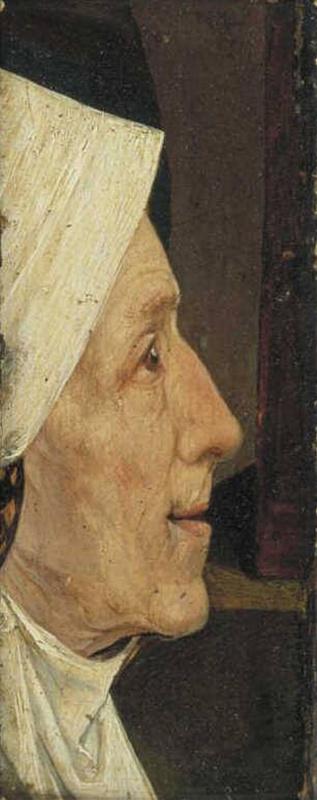 Иероним Босх. Голова женщины (Голова старухи)
