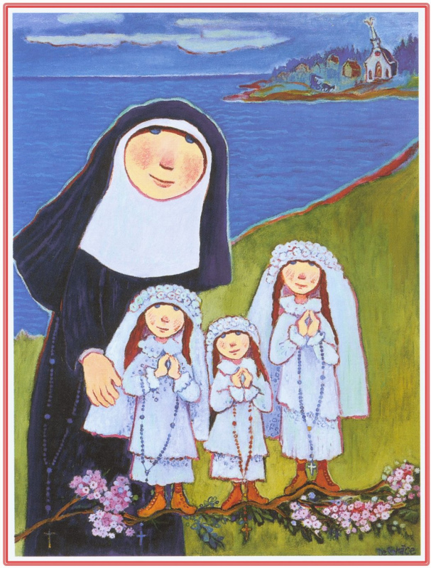 Нер Де Грос. Монашка