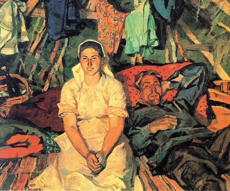 Victor Ivanov. Woman
