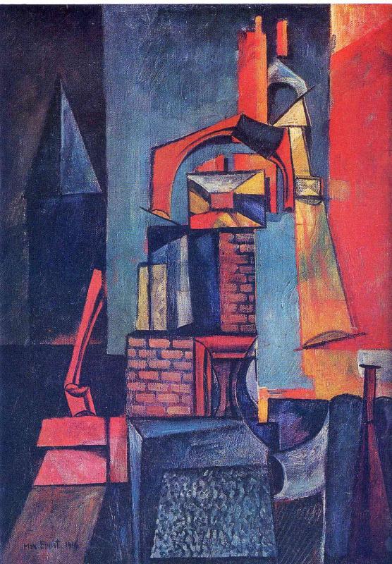 Max Ernst. Plot 3