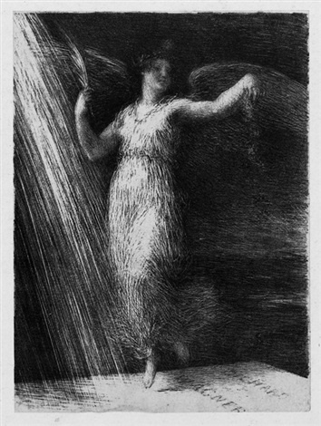 Henri Fantin-Latour. Awakening. Richard Wagner
