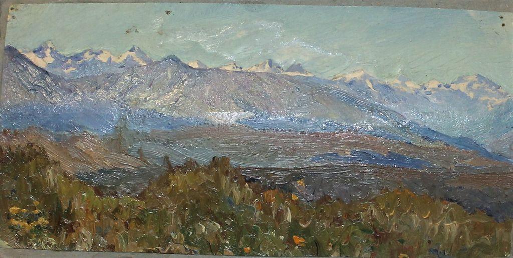 Orest Georgievich Betekhtin. The mountains
