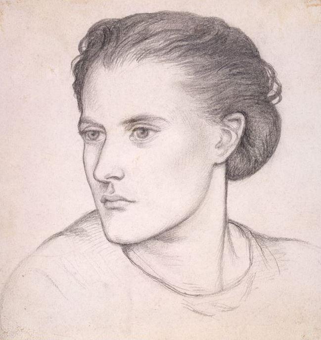 Данте Габриэль Россетти. Портрет миссис Вернон Лашингтон