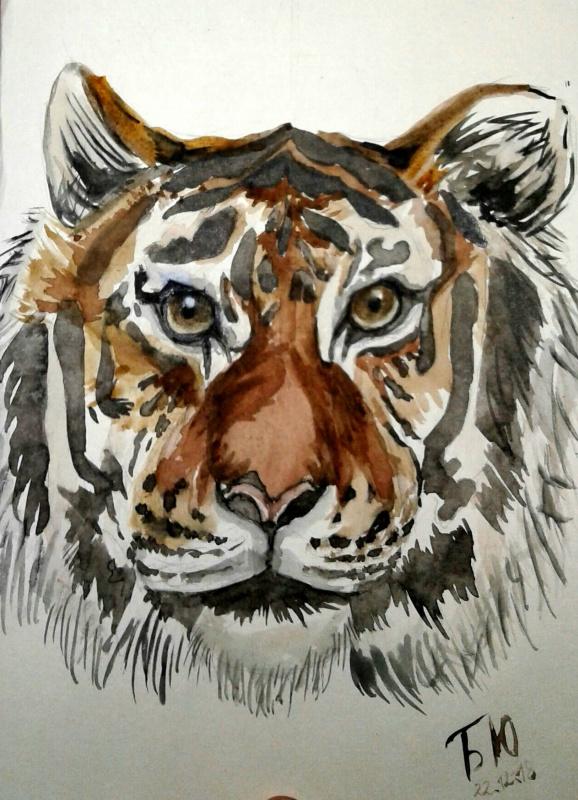 Julia Sergeevna Bochkareva. Tiger