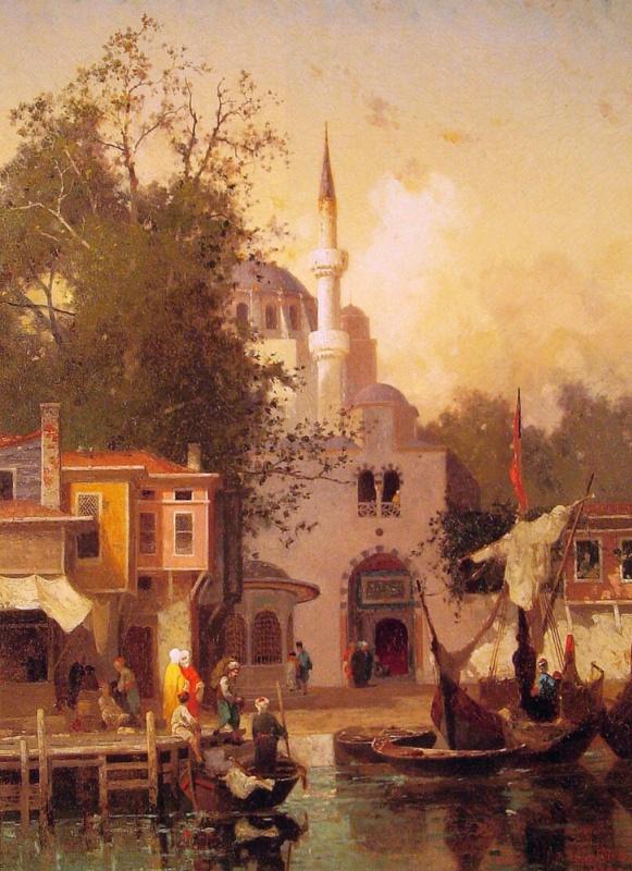 Фабиус Жермен Брест. Константинополь