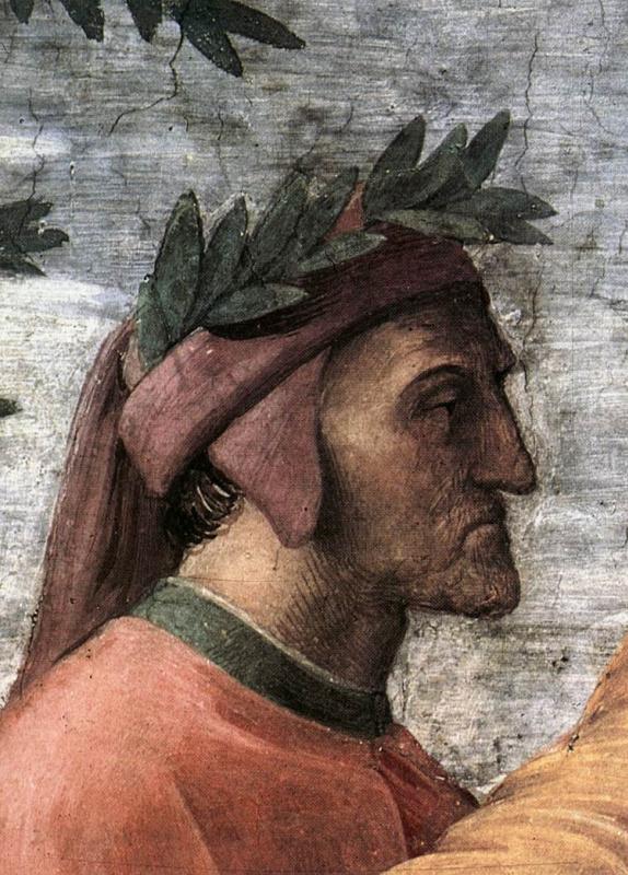 Raphael Sanzio. The Stanzas Of The Vatican. Parnassus. Fragment