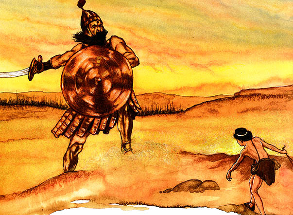 Michael Hag. 0031 David and Goliath