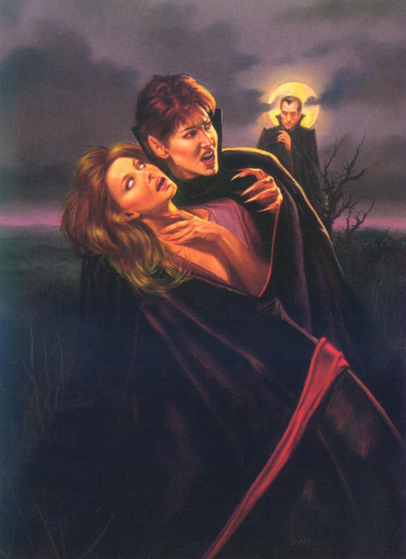 Иосиф Де Вито. Ночной вампир