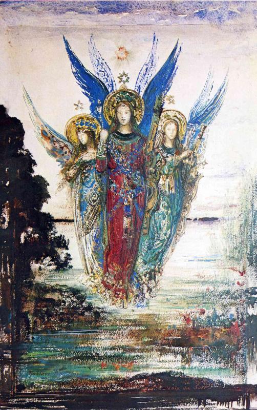 Гюстав Моро. Три ангела