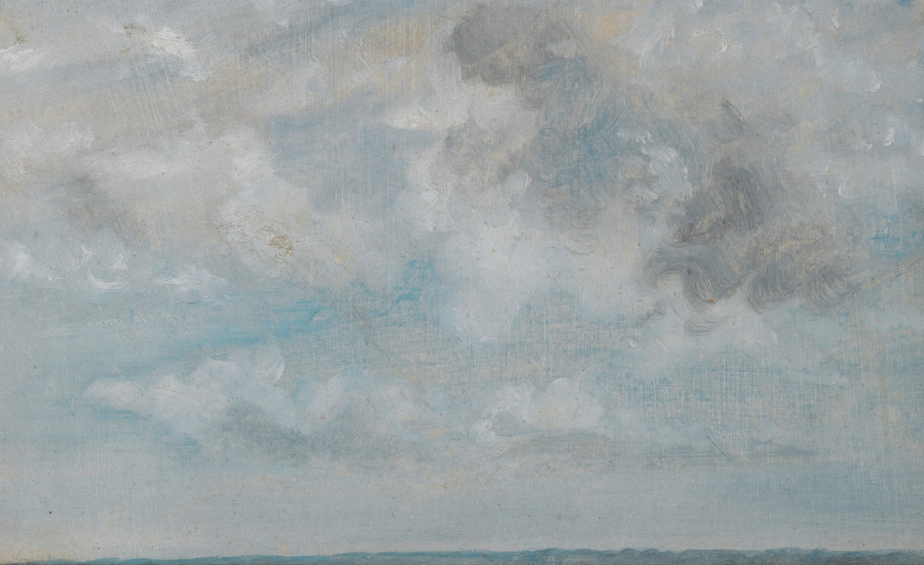 John Constable. Clouds. Sketch