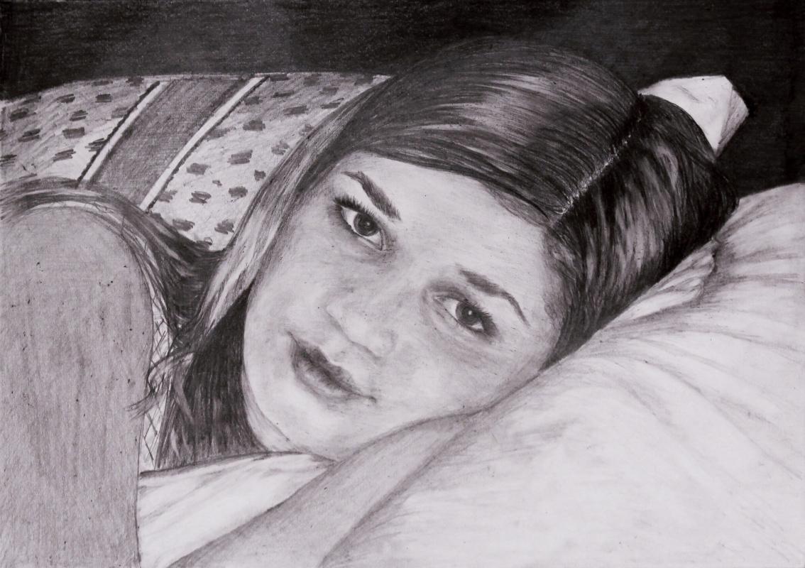 Elena Sh. Portrait Of Alenka