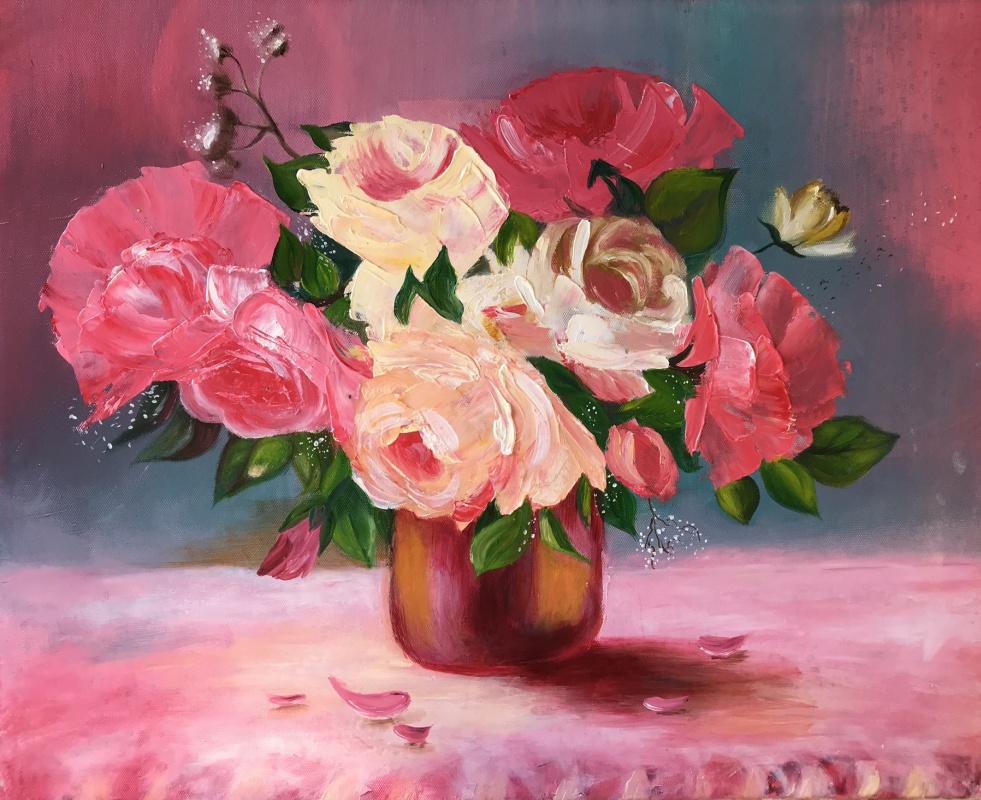 Elena Gorshkova. Morning flowers