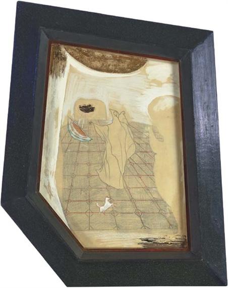 Leonora Carrington. The hooded figure