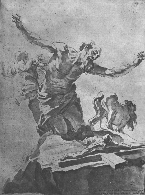 Джованни Лоренцо Бернини. Кающийся Святой Иероним