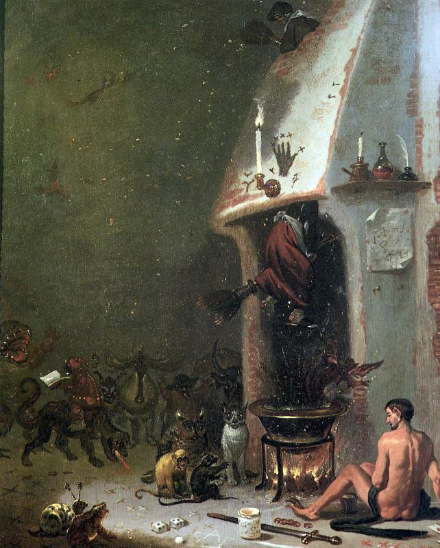 Корнелис Сафт. Ведьмина гора
