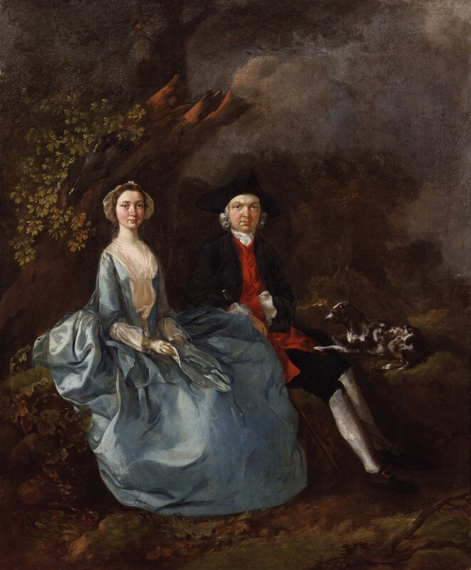 Thomas Gainsborough. Sarah Kirby, nee bull, and Joshua Kirby