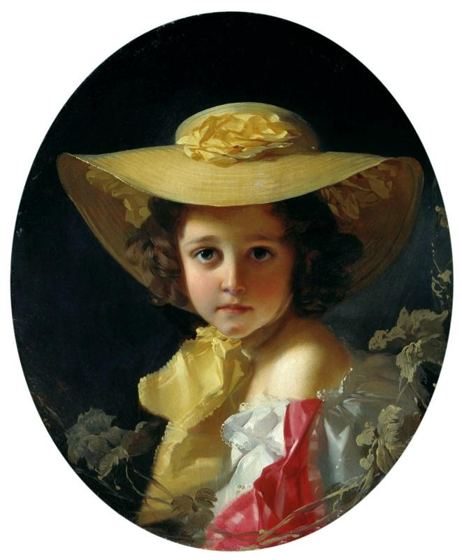 Ivan Kuzmich Makarov. Portrait of Countess Tolstoy