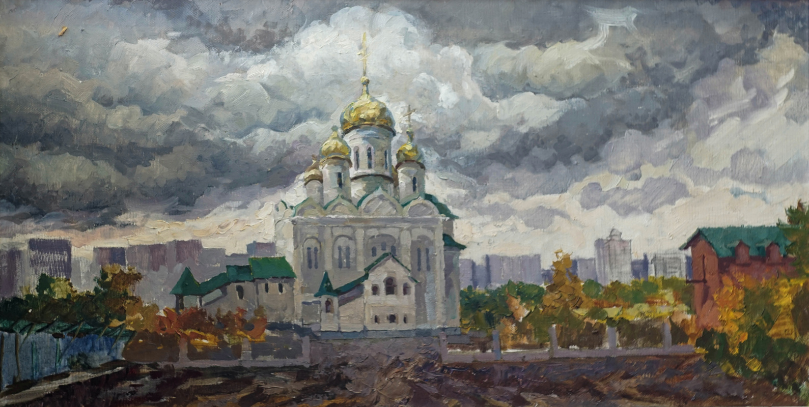 Alexey Alekseevich Drilev. Church of St. John the Evangelist