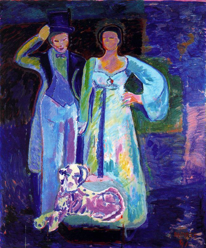 Хуан Антонио Агирре. Мужчина и женщина