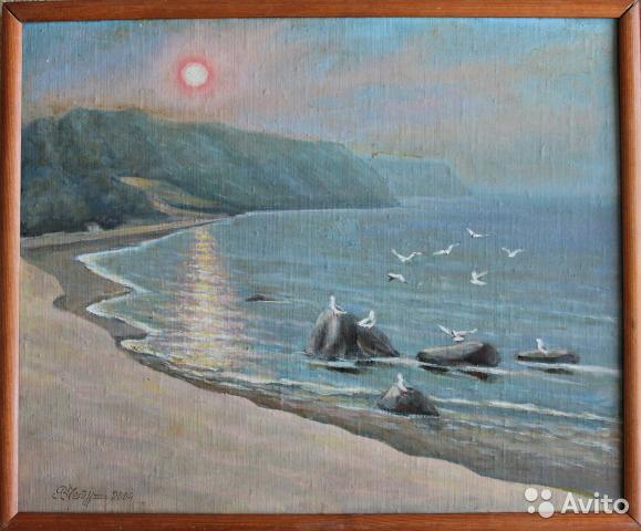 Victor Andreevich Chepurko. Near the shore