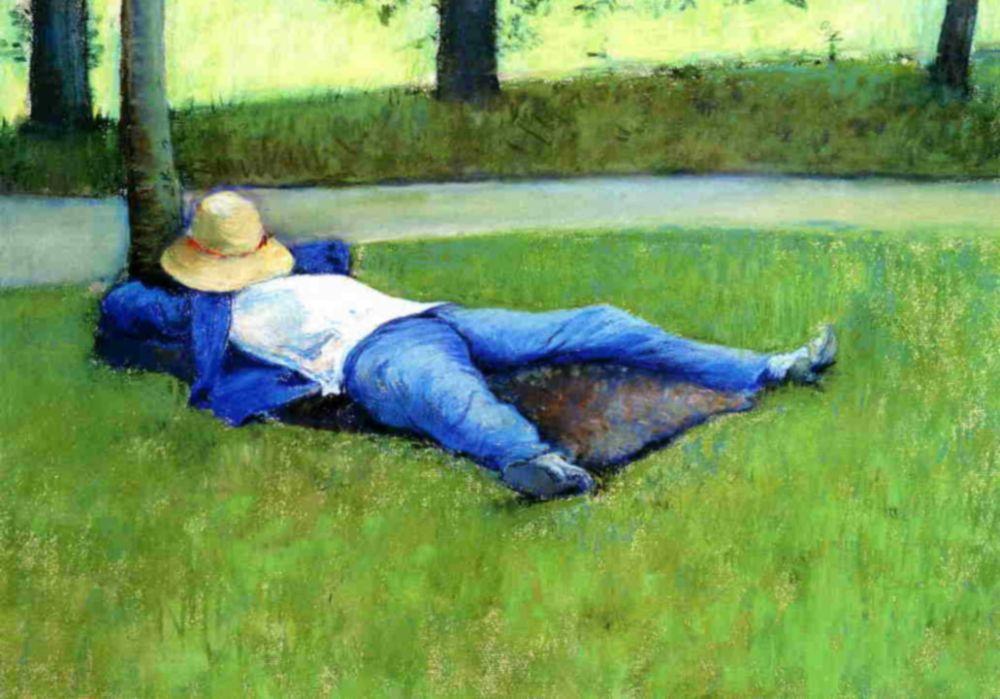 Gustave Caillebotte. Slumber