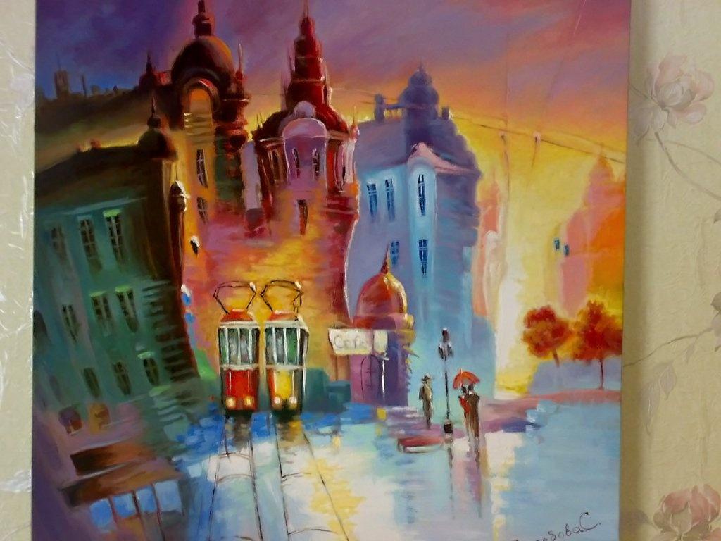 Svetlana. City after the rain