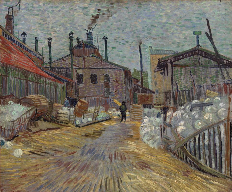 Винсент Ван Гог. Фабрика в Аньере