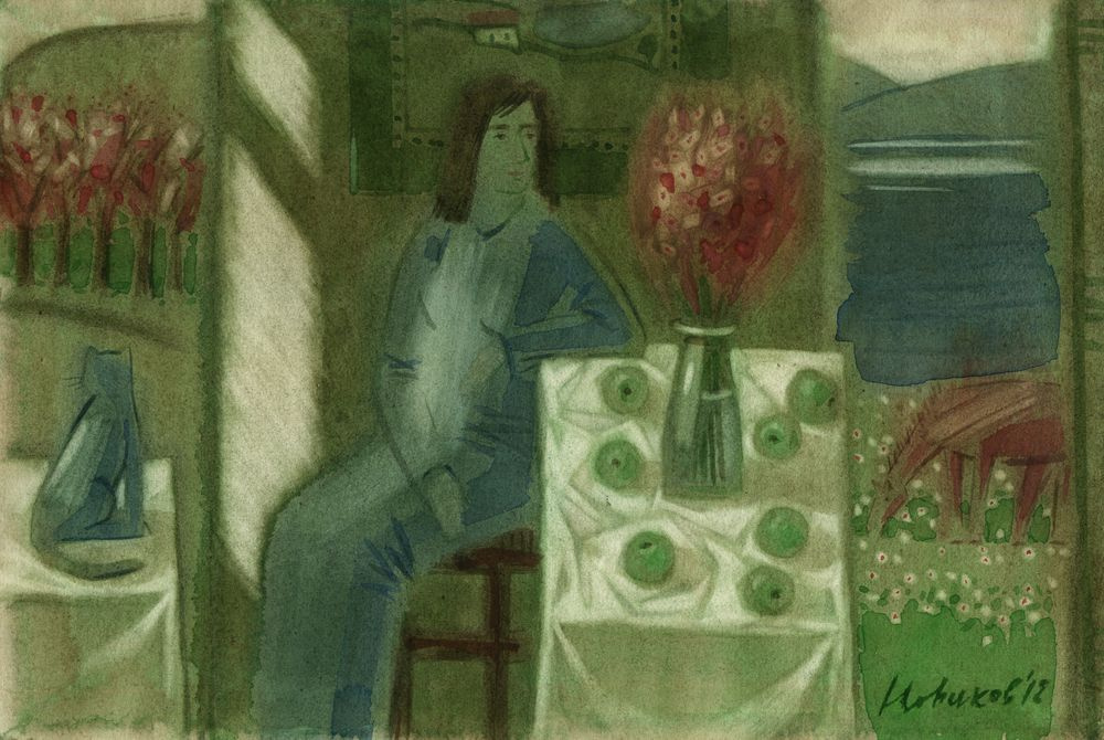 Novikov Anatolyevich Vladimir. Green light