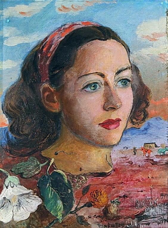 Давид Давидович Бурлюк. Сюрреалистический портрет