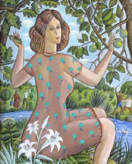 Vladimir Petrovich Chernov. Summer. Green apples