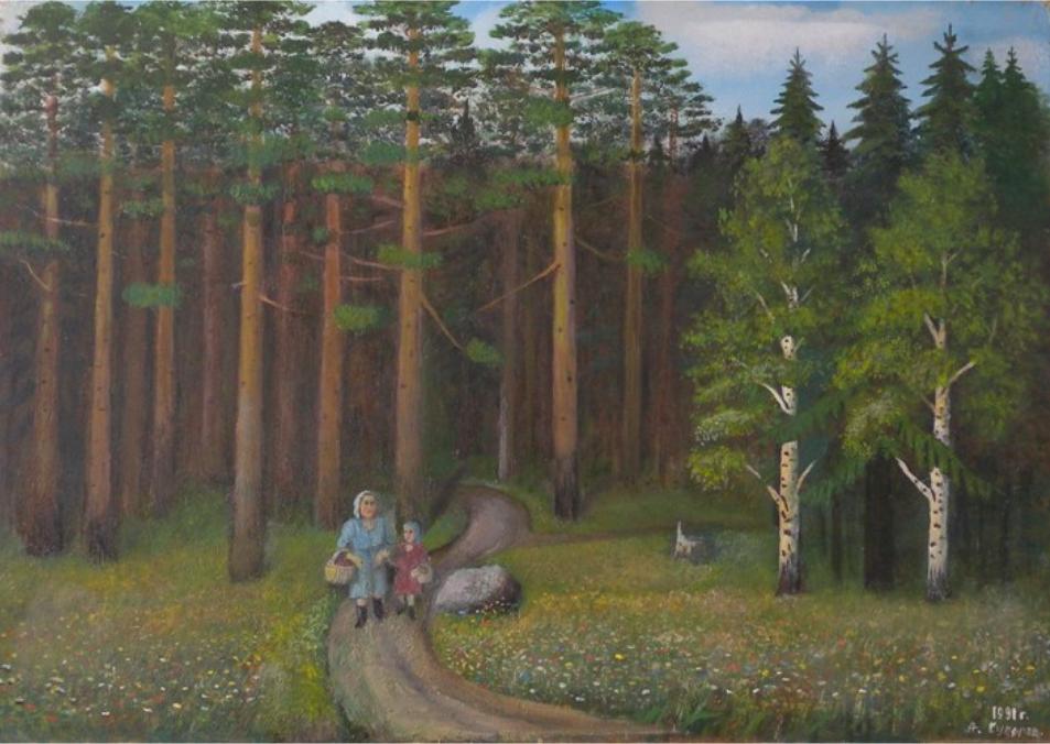 Alexander Vasilyevich Suvorov. For mushrooms