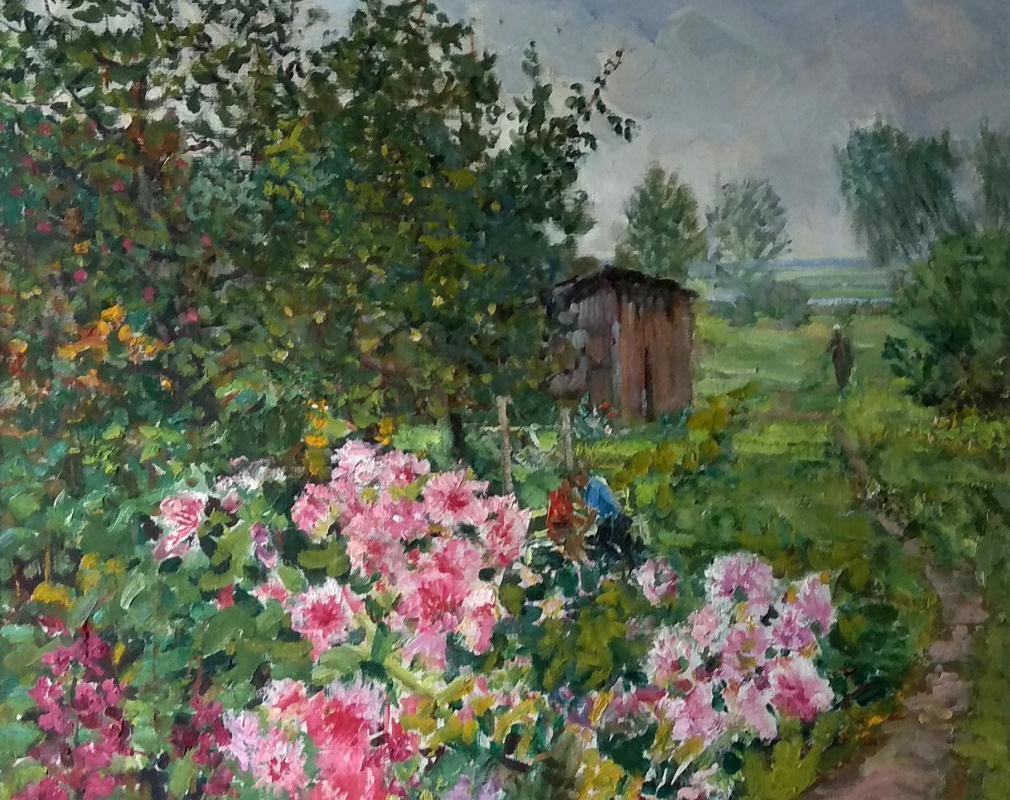 Vasily Fadeevich Demin. Summer in Zasechye
