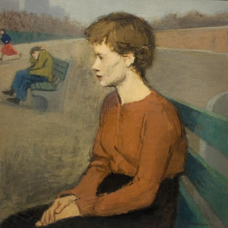 Рафаэль Сойер. Девушка в парке
