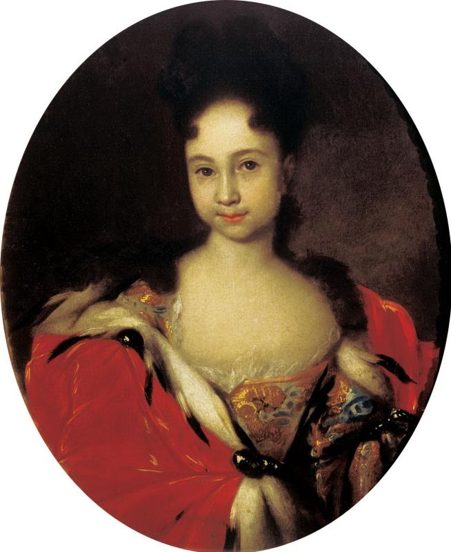 Портрет цесаревны Анны Петровны