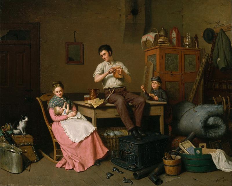 Henry Mosler. Settlers