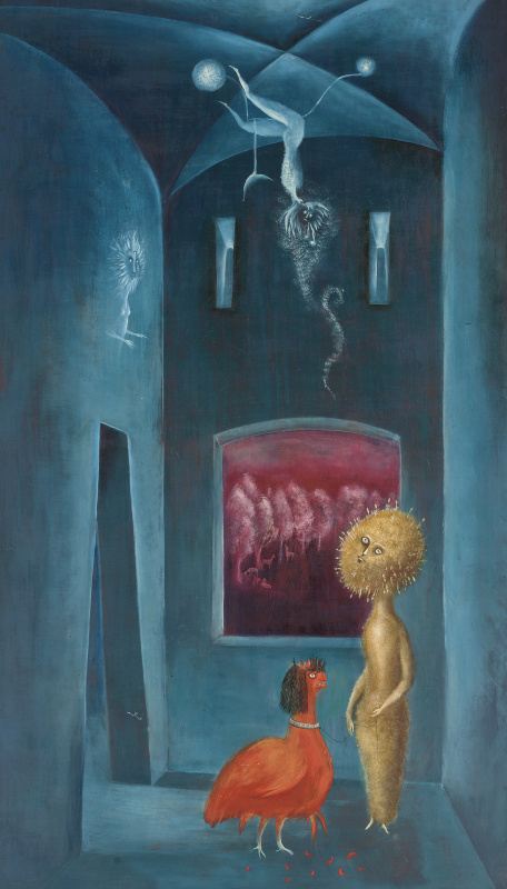 Leonora Carrington. The chicken sisters (Daisy, give me your answer)