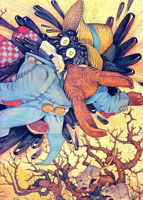 Дон Дэйли. Иллюстрация к сказке Братец Кролик 031