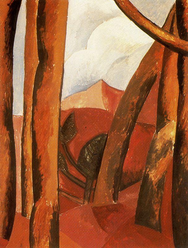 Пабло Пикассо. Пейзаж 5